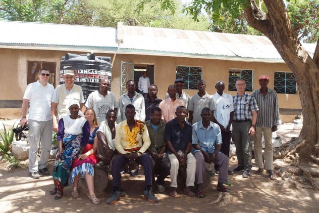 Local community get-together on Ijinga Island on Lake Victoria